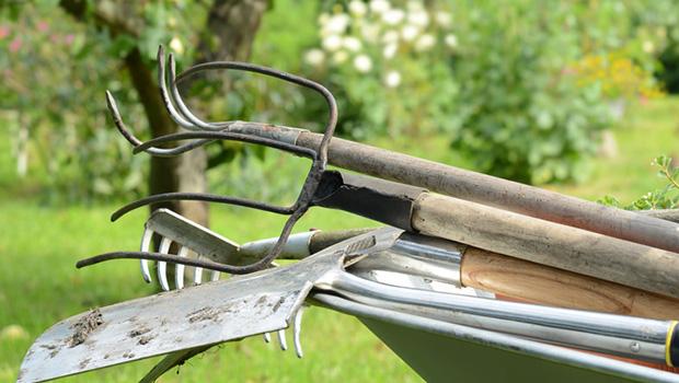 Gartengeräte mieten