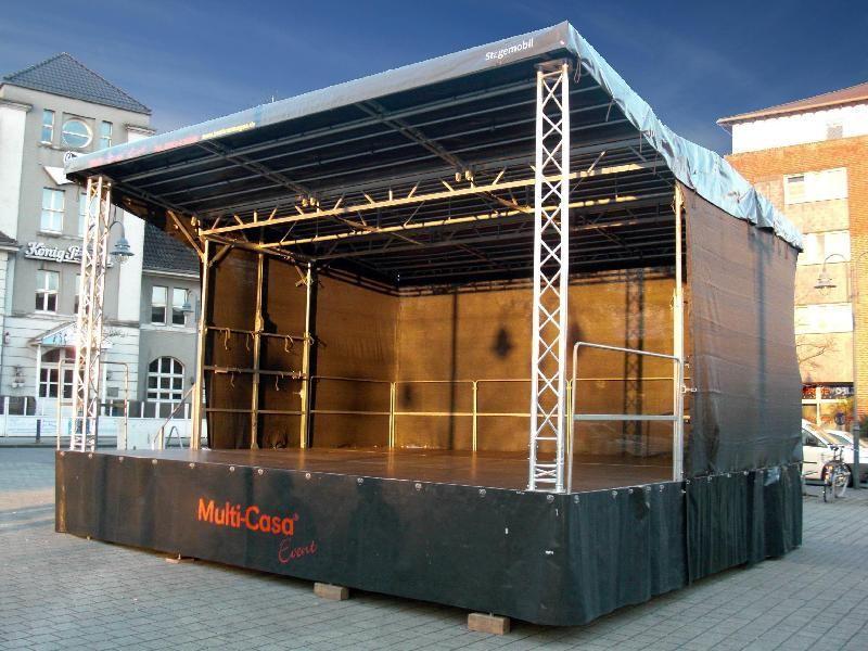 Bühne mieten & vermieten - Mobile Veranstaltungsbühne STAGEMOBIL 45 in Duisburg