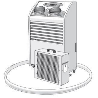 Klimageräte mieten & vermieten - Klimagerät Trotec PT 6500 WS Spotcooler in Heinsberg