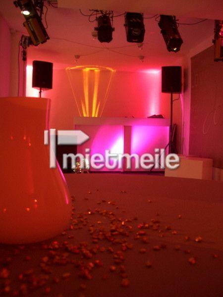 Musikanlage mieten & vermieten - Partyanlage Paket 2 DJ Anlage mit Licht - DJ Mixer in Bayreuth