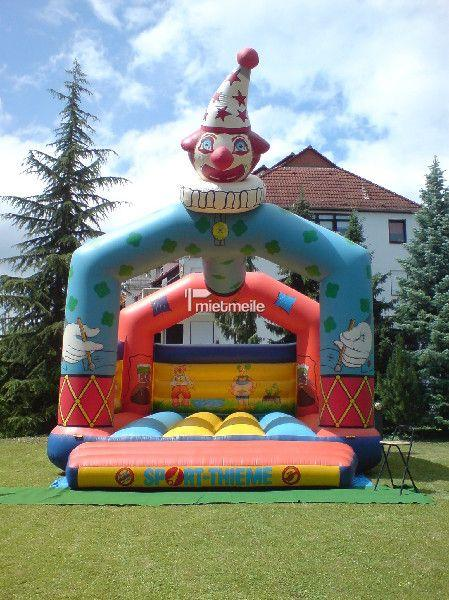 Hüpfburg mieten & vermieten - Große Hüpfburg Clown in Idstein