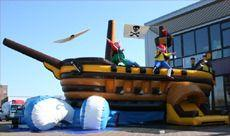 Hüpfburg mieten & vermieten - Captain Hooks Piratenschiff inkl Betreuer (6 Std.) in Augustdorf