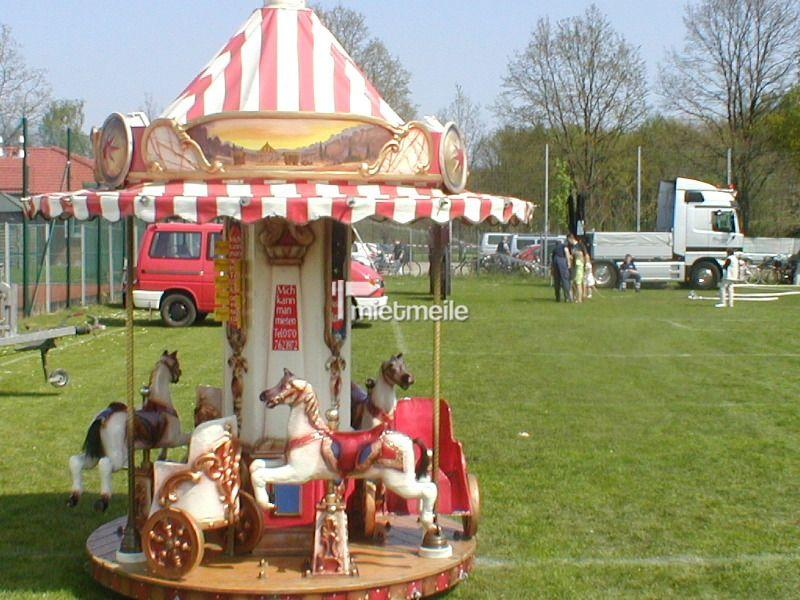Karussell mieten & vermieten - Mini Kinderkarussell Nostalgie Pferdchenkarussell in Lehrte