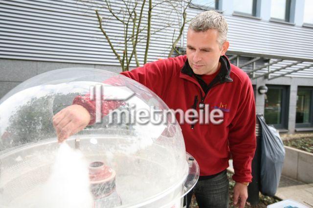 Zuckerwattemaschine mieten & vermieten - Zuckerwattemaschine, Die zuckersüße Candywolke  in Bottrop