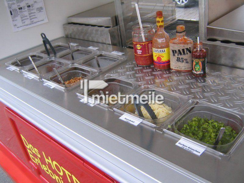 Catering mieten & vermieten - Hot Dog Wagen - Hotdog Catering - Full Service Angebot inkl. allem in Lampertheim