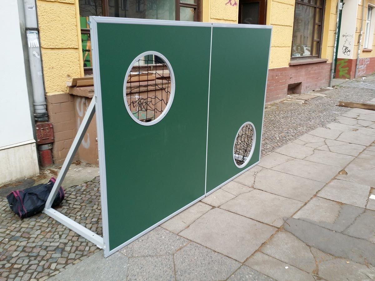 Torwand mieten & vermieten - Torwand - auch mit Branding buchbar in Berlin Friedrichshain