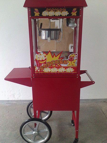 """Popcornmaschine mieten & vermieten - Vermietung Fun Food - """"Popcornmaschine"""" in Alsbach-Hähnlein"""