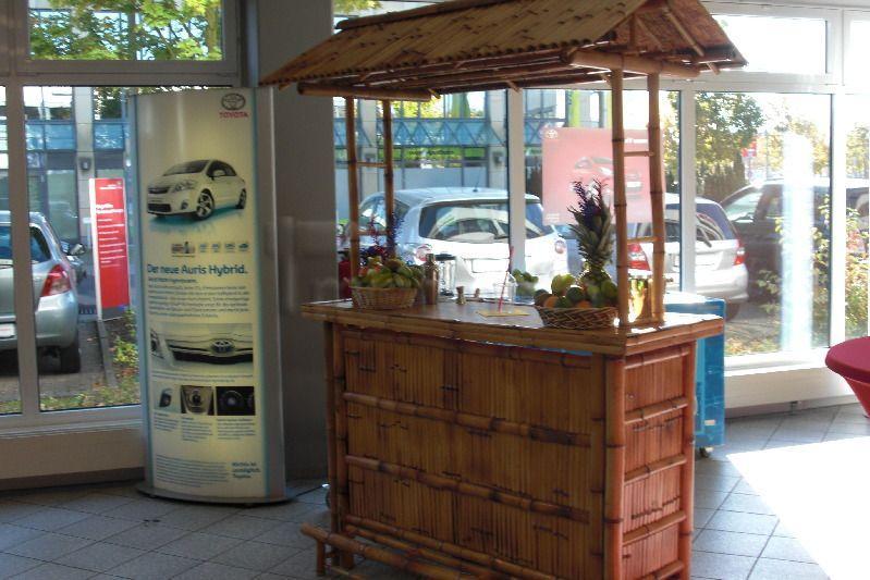 Bar Theke mieten & vermieten - Bambusbar in Alsbach-Hähnlein