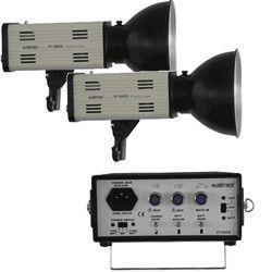 Kamerazubehör mieten & vermieten - Portables Studio / Blitzanlage Walimex 300 mit CAR in Ismaning