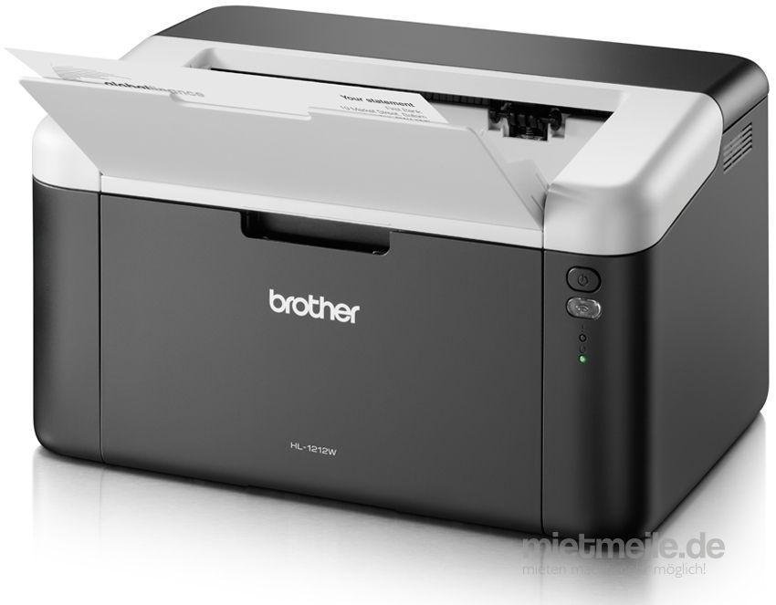 Laptop mieten & vermieten - BROTHER HL-1212W A4 monochrom Laserdrucker in Gräfenberg
