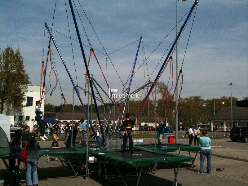 Bungee mieten & vermieten - 4 er Bungee Trampolin in Bottrop