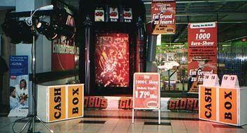 Gewinnspiele mieten & vermieten - Slotmachine, Cashbox, Losbox leihen, mieten in Göppingen
