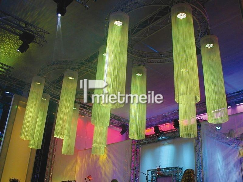 Leuchten & Lampen mieten & vermieten - Fadenvorhang 2,5m mit Halterung in Chemnitz