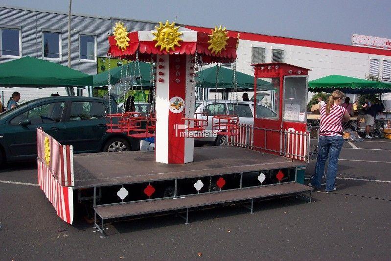Karussell mieten & vermieten - Kinder Karusell Kettenflieger 8 Sitze in Alfter