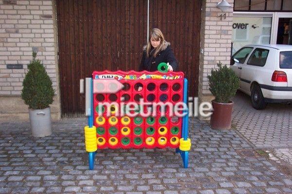 Spielgeräte mieten & vermieten - Vier Gewinnt - Jumbo Spielgerät 122x57x117cm,  in Alfter