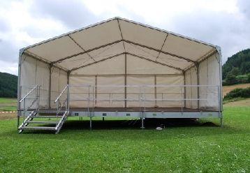 Bühne mieten & vermieten - Bühne 48m² oder 60m² in Oranienbaum