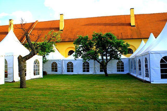 Partyzelte mieten & vermieten - Festzelt 8m, 10m, 15m, 20m, in Oranienbaum