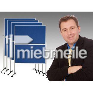 Pinnwand mieten & vermieten - 40'er Pinnwand / Moderationstafel im SET in Wesel