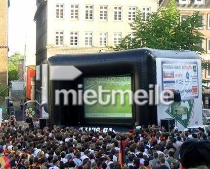 Leinwand mieten & vermieten - Videowände für Tageslicht Videoprojektion in Giebelstadt
