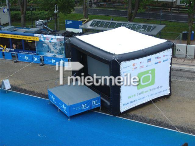 Bühne mieten & vermieten - Video Screen Projektions Modul für Bühne in Giebelstadt