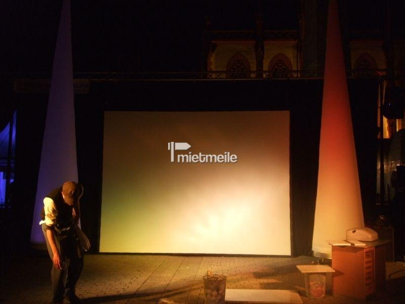 Bühne mieten & vermieten - Backdrop bzw. Hintergrund für Bühnen in Eibelstadt