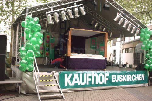 Bühne mieten & vermieten - überdachte Veranstaltungsbühnen / Bühnenfahrzeuge in Bonn