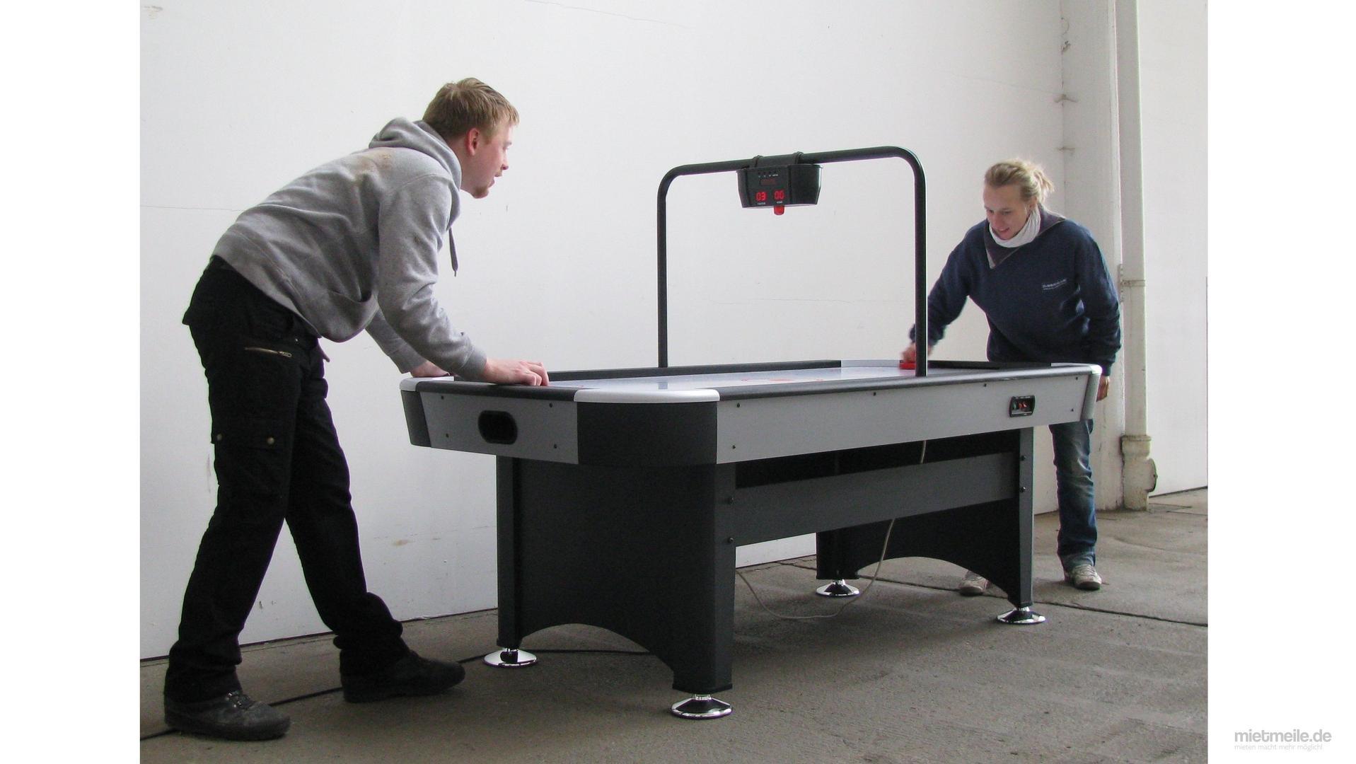Spielgeräte mieten & vermieten - Air Hockey in Hannover