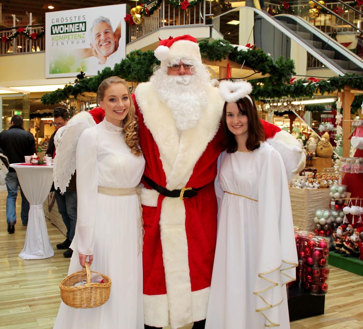 Weihnachtsmann mieten & vermieten - Weihnachtsmann, auch mit Engel in Köditz