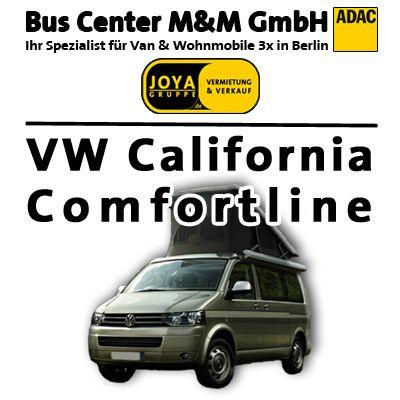 Wohnmobile mieten & vermieten - Reisecamper-Wohnmobil *VW T5 California in Berlin