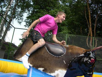 Bullriding mieten & vermieten - Rodeo Bullriding - SONDERANGEBOT - Profi Anlage! in Hünfelden