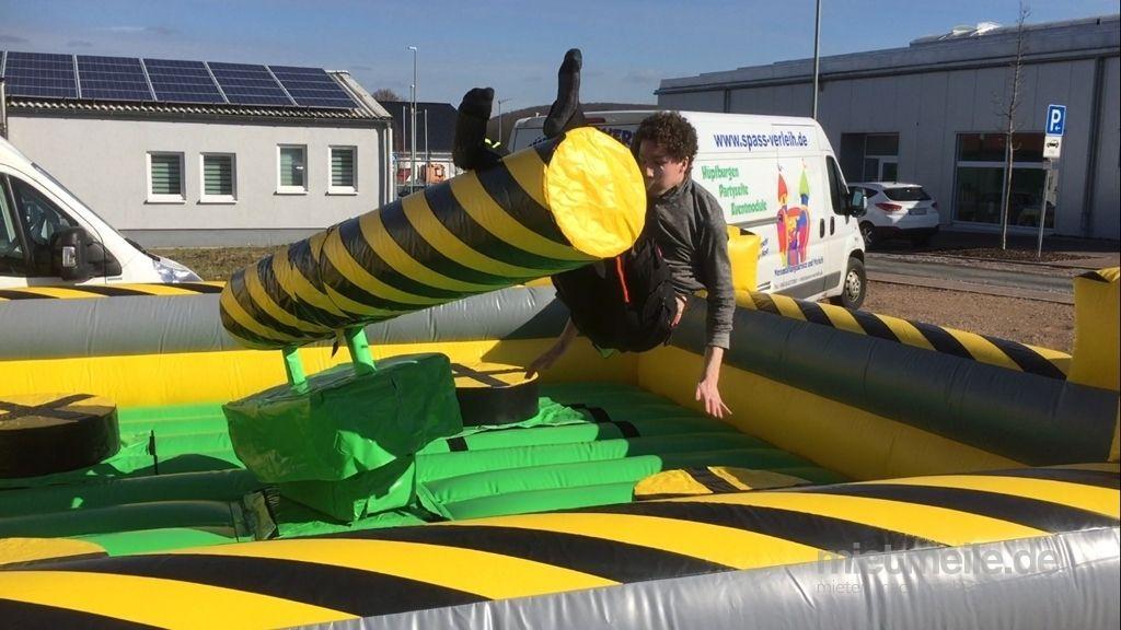 Parcours mieten & vermieten - Broom Action Modul wie Bullriding in Hünfelden