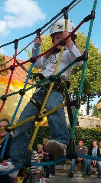 Klettergeräte mieten & vermieten - Kinder-Hochseilgarten, mobil in Ense