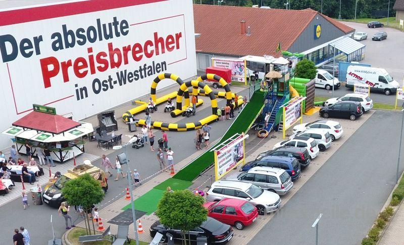 Kletterwand mieten & vermieten - hüpfburg mieten, neue Kinderattraktion in Ense