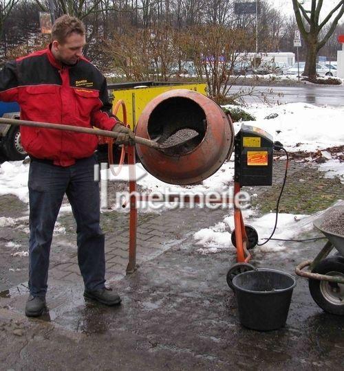 Mischmaschinen mieten & vermieten - Betonmischer 125 Liter in Bad Nenndorf