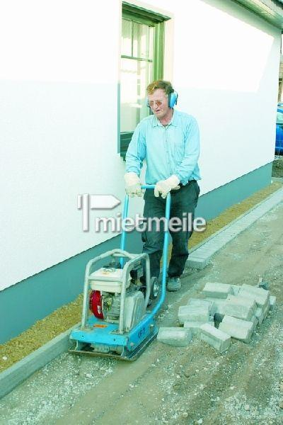 Rüttelplatte mieten & vermieten - Rüttelplatte, Rüttler, Vibrationsplatte 80 kg in Bad Nenndorf