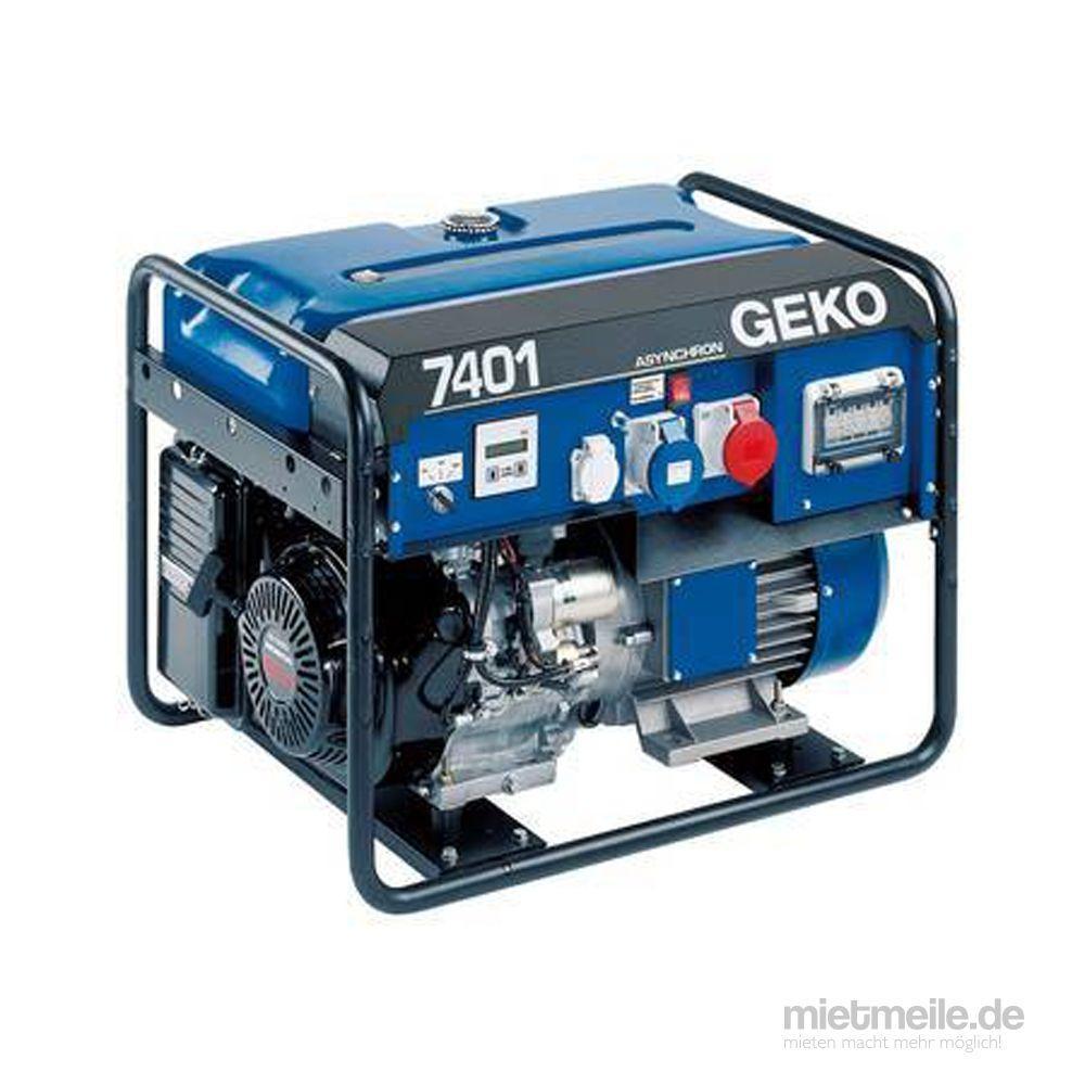 Stromgenerator mieten & vermieten - Stromerzeuger, Generator, Aggregator, Stromgenerator 6 kW für mobile Einsatz in Remchingen