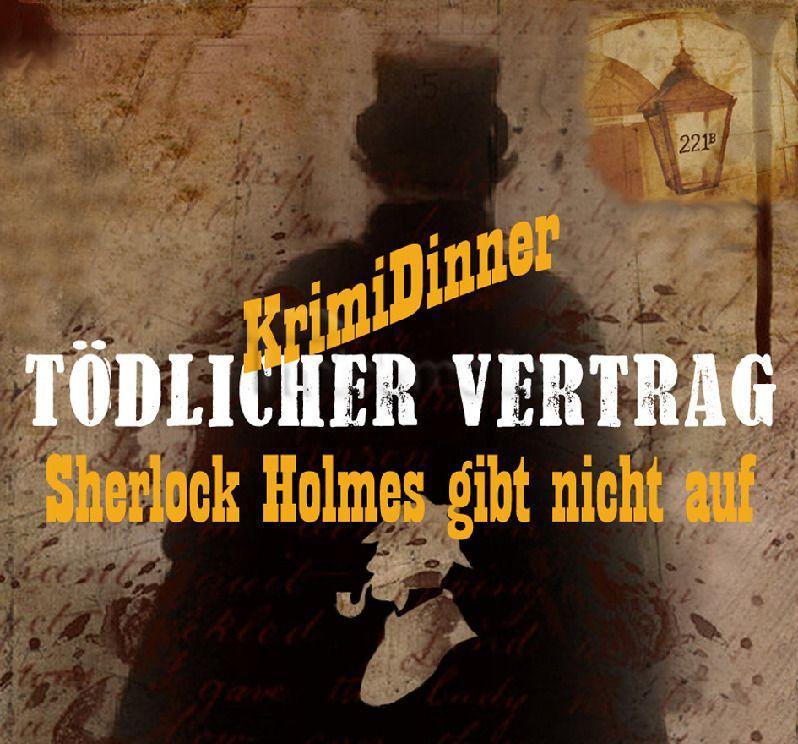 "Event- & Messepersonal mieten & vermieten - Krimidinner, Dinnertheater Krimi""Sherlock Holmes"" in Münster (Westfalen)"