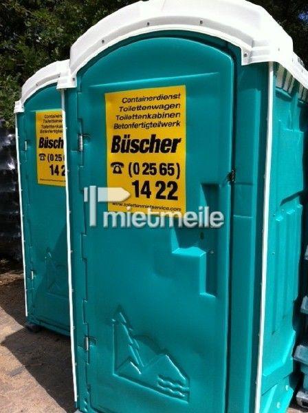Toilettenkabine mieten & vermieten - Klo - Bau-WC - Toilette - WC-Kabine in Heek