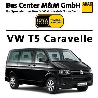 Transporter mieten & vermieten - 8 9 sitzer Classic Van *VW T5 Caravelle* in Berlin