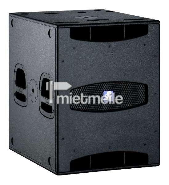 Musikanlage mieten & vermieten - Aktivbass (mit eingebautem Verstärker) 800 Watt in Eibelstadt