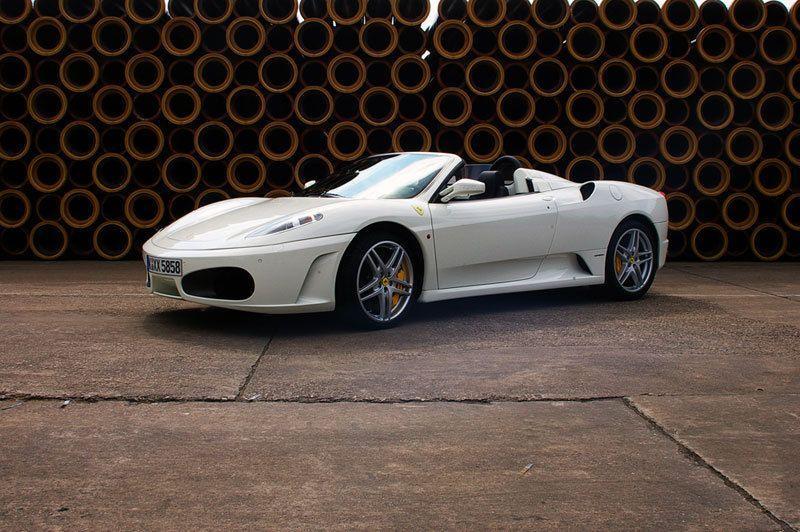 ferrari spider f430 ferrari weiss sportwagen cabrio. Black Bedroom Furniture Sets. Home Design Ideas