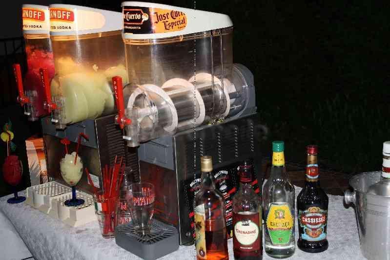 Cocktailbar mieten & vermieten - Slusheismaschine f.Cocktails mieten in Frankfurt/M in Ginsheim-Gustavsburg
