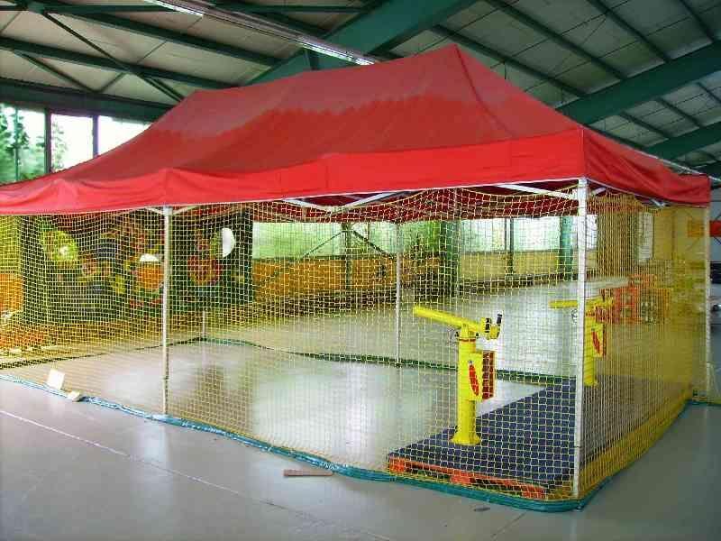 Großspielgeräte mieten & vermieten - Softballanlage mit Zelt mieten in Mainz,Frankfurt  in Ginsheim-Gustavsburg