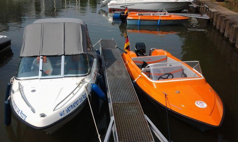 Motorboote mieten & vermieten - Boot mieten an der Mosel Führerscheinfrei  in Weitefeld