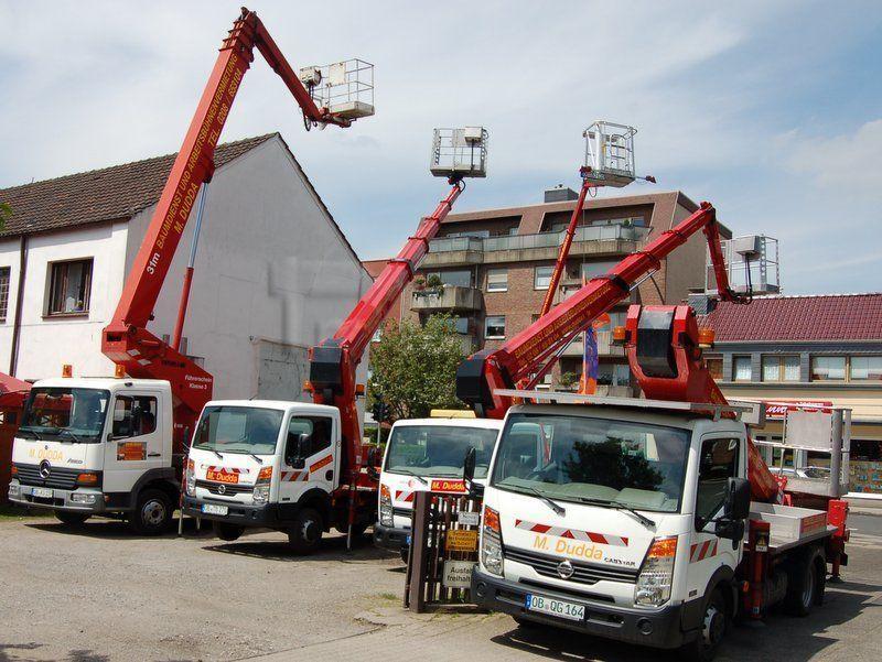 LKW Hebebühnen mieten & vermieten - Miet Arbeitsbühne 22 Meter Steiger TB 220 in Oberhausen