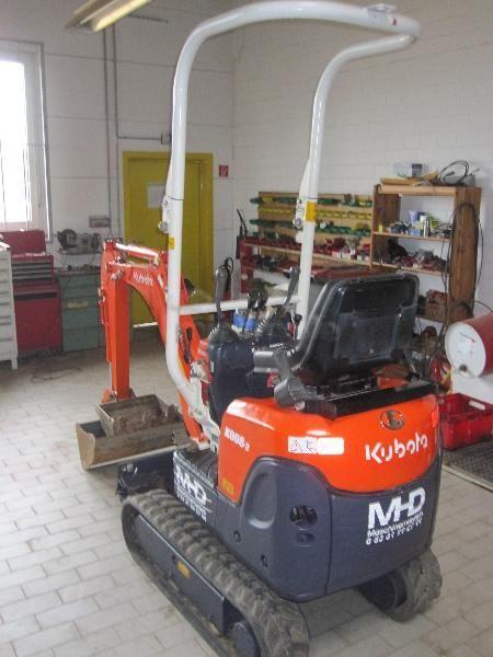 Bagger mieten & vermieten - Kubota K008-3, Minibagger 0,8t in Wolfenbüttel