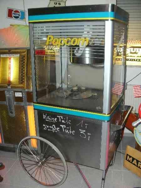 Popcornmaschine mieten & vermieten - Profi-Popcornmaschine mieten in Frankfurt/M,Mainz in Ginsheim-Gustavsburg