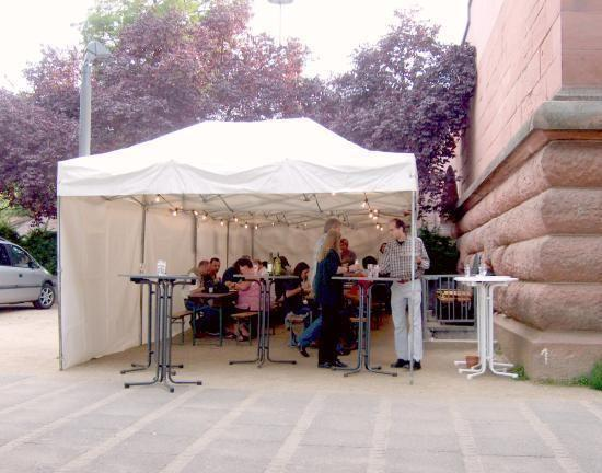 Partyzelte mieten & vermieten - Zelt 4 x 10.6m mit Zubehör für ca. 80 Gäste in Wiesbaden