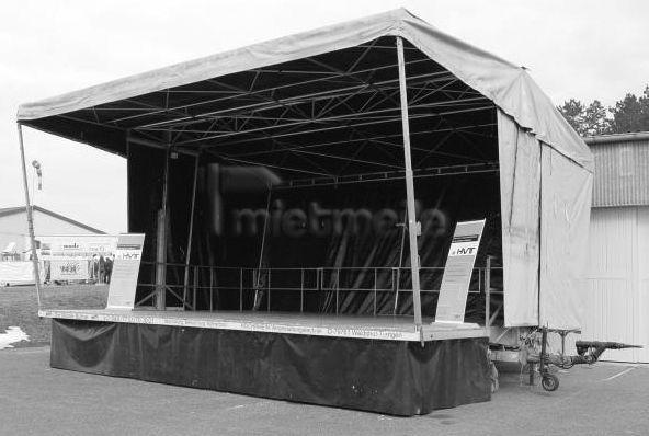 Bühne mieten & vermieten - Mobile Bühne Willy 60 in Waldshut-Tiengen