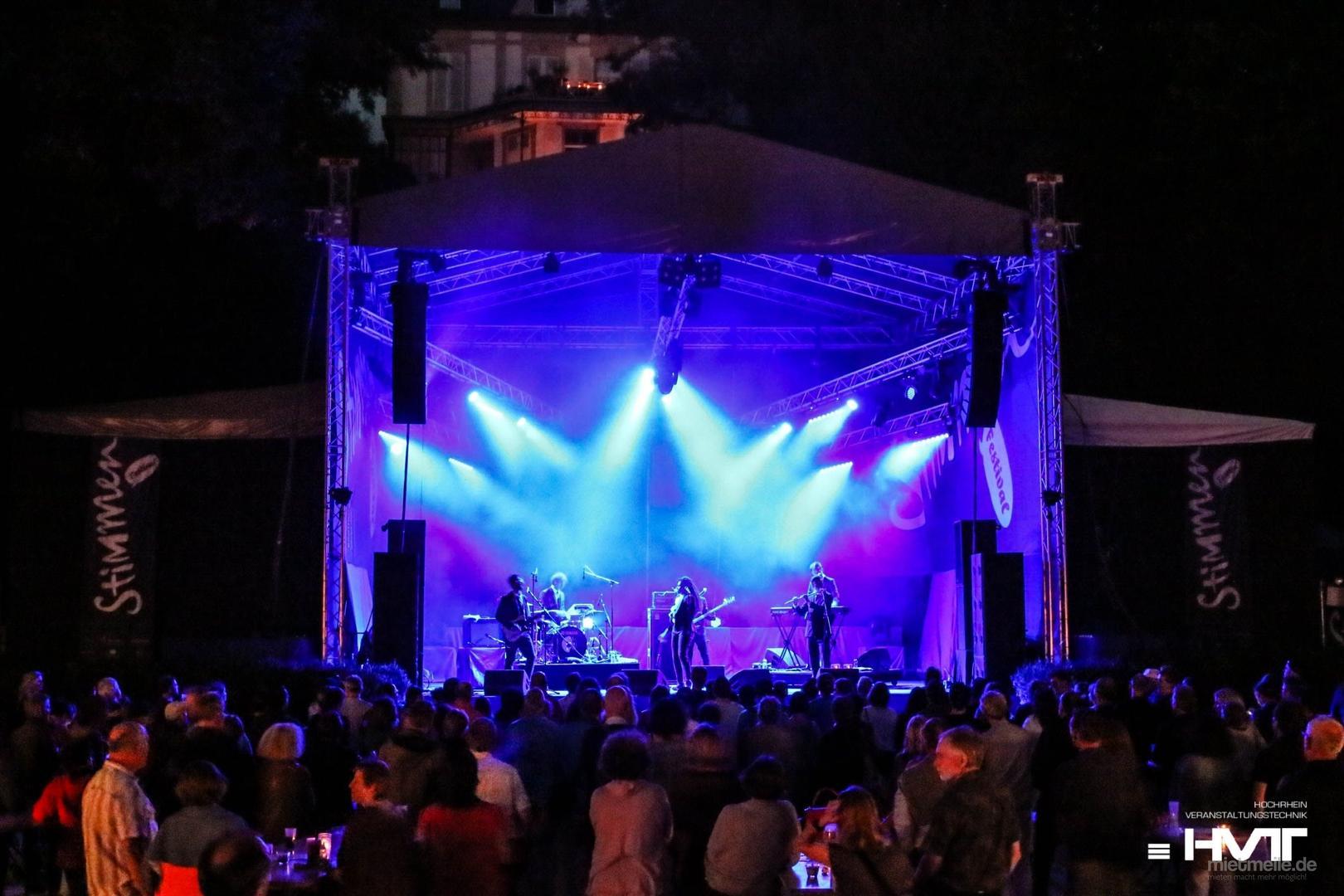 Bühne mieten & vermieten - Bühne mit Bühnendach 12 x 10 m in Waldshut-Tiengen